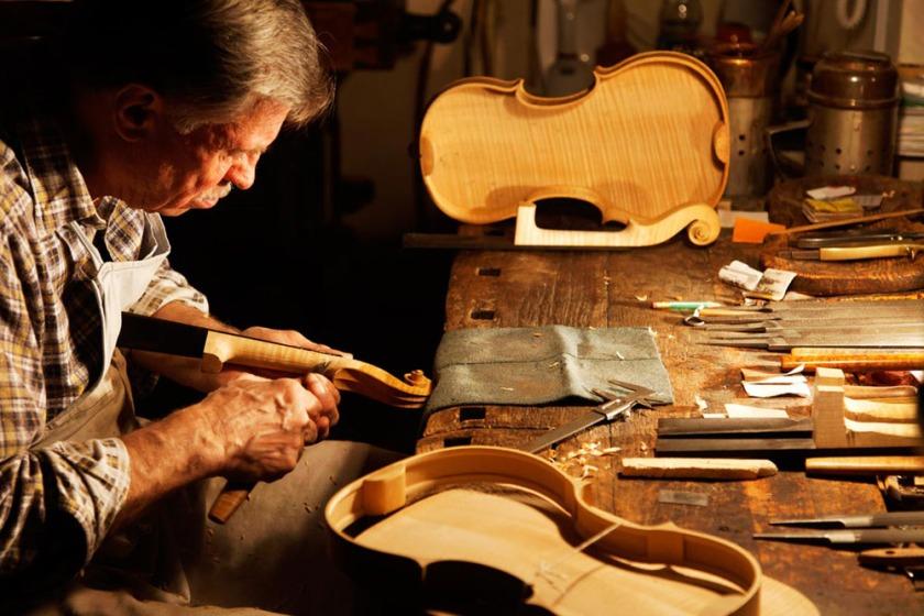 Musikinstrumente aus dem Vogtland