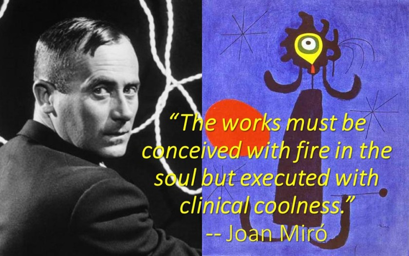 Joan Miró quote