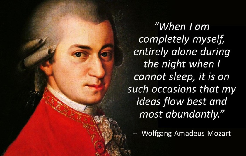 Wolfgang Amadeus Mozart quote