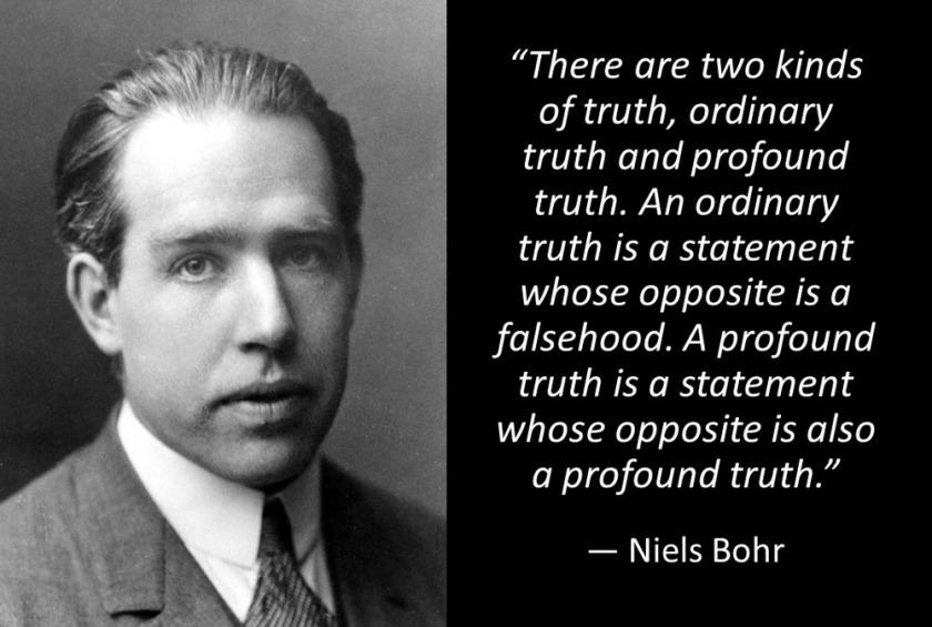 Bohr quote
