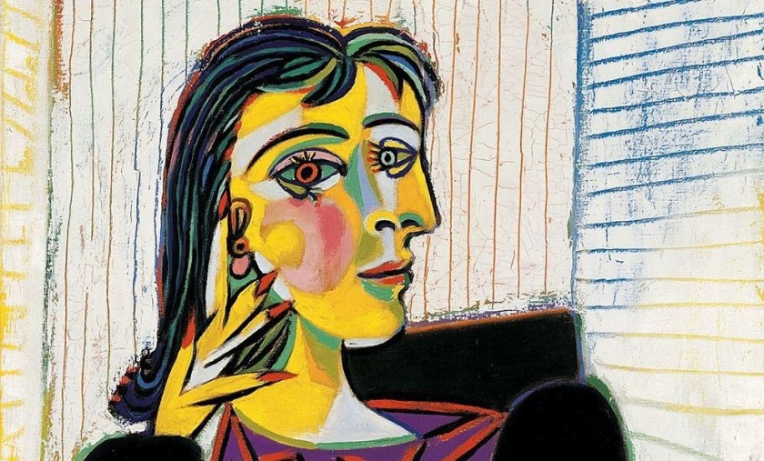 Picasso - portrait of Dora Maar